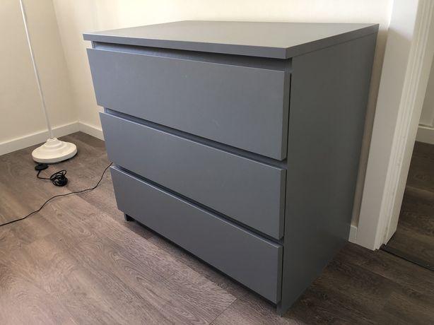Cómoda 3 gavetas IKEA