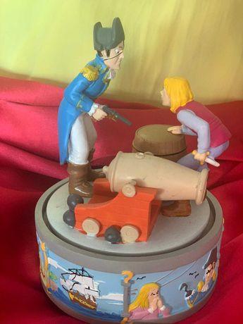 Caixa música Disney - Peter Pan e o Capitão Gancho