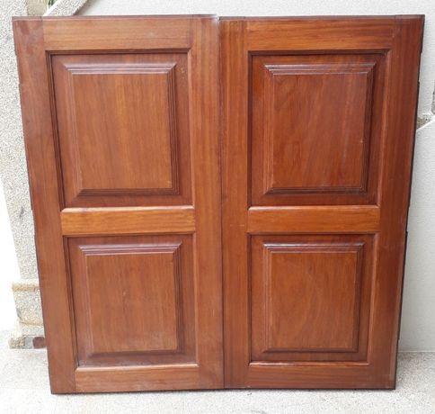 Portadas de madeira para janelas