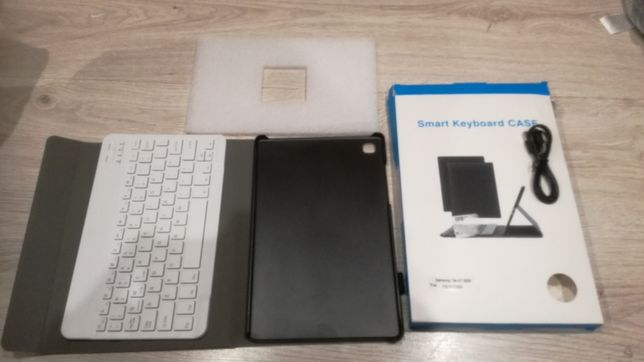 Etui Keyboard Cover do Samsung Galaxy Tab A7 10.4 2020, Rose T500/T505