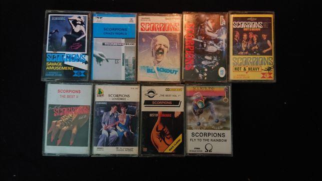 Kasety magnetofonowe.Scorpions ,