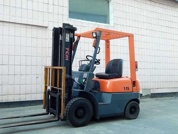 Вилочный погрузчик TCM FD15Z18, дизель (навантажувач, автонавантажувач