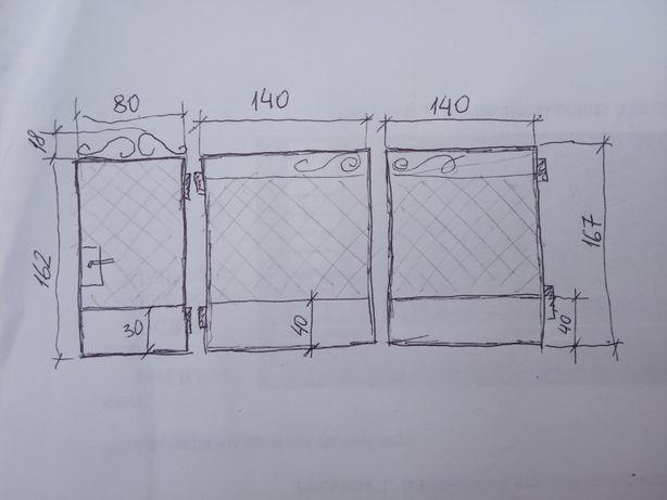 Брама з хвірткою, ворота, калитка