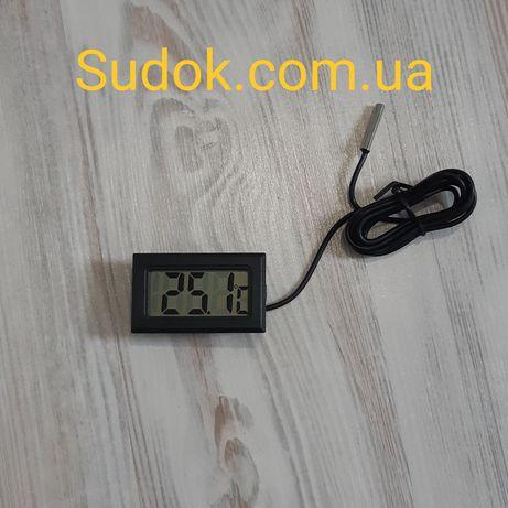 Цифровой термометр с выносным водонепроницаемым датчиком