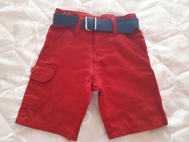 Продам бриджи-шерты бордового цвета для мальчика на 3-4 годика.