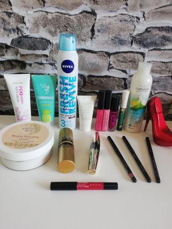Zestaw kosmetyków mało używanych, Nivea nowy