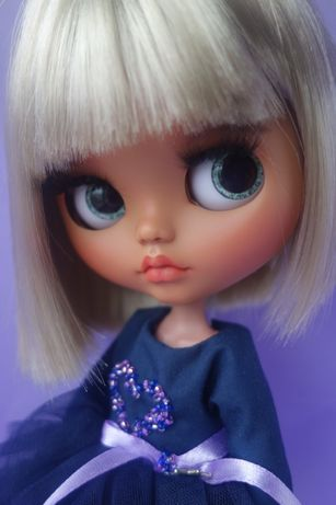 Кукла Блайз кастом, ооак. Шарнирная кукла. Кукла на подарок.