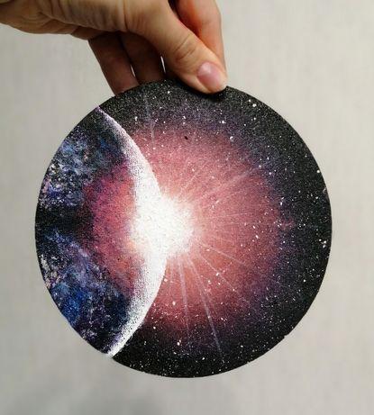 Картина космос в интерьер 30 см