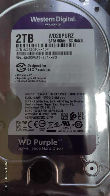 Жесткий диск WD Purple 2TB 64MB