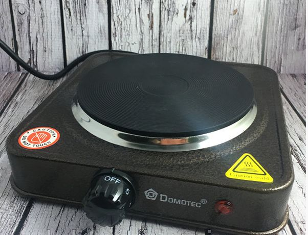 Електроплита дискова настільна 1кВт