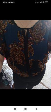 Piekna bluzeczka wzorzysta