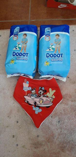 Novo Babete da loja Disney oficial fraldas de banho/praia dodot 14+ kg