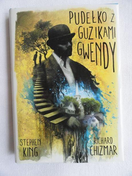 Pudełko z guzikami Gwendy Stephen King / twarda z obwolutą / nowa