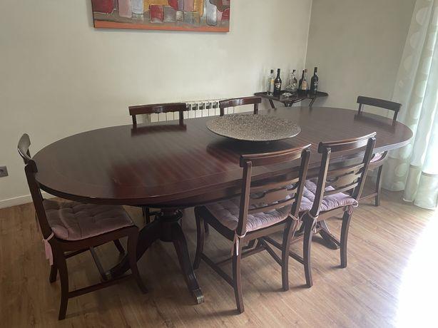 Mobilia de sala de jantar e estar