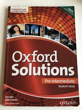 Podręcznik do angielskiego oxford solutions poziom rozszerzony