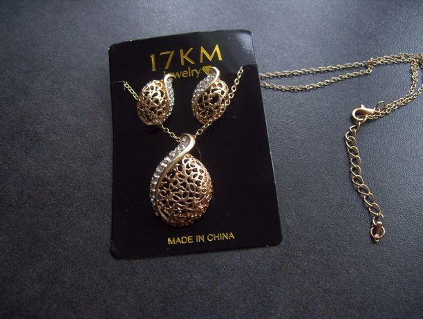 Nowy zestaw ażurowej biżuterii