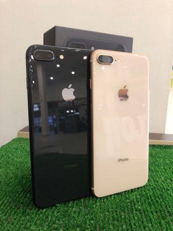 iPhone 8 Plus + 64 space gray NEVERLOCK Магазин Гарантия 3 месяца
