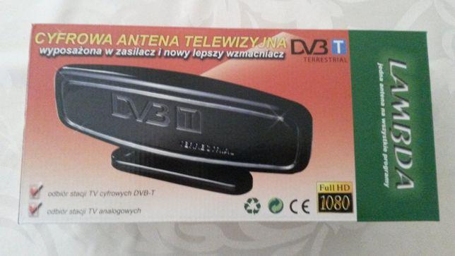Antena pokojowa wewnętrzna dvb-t telewizja cyfrowa