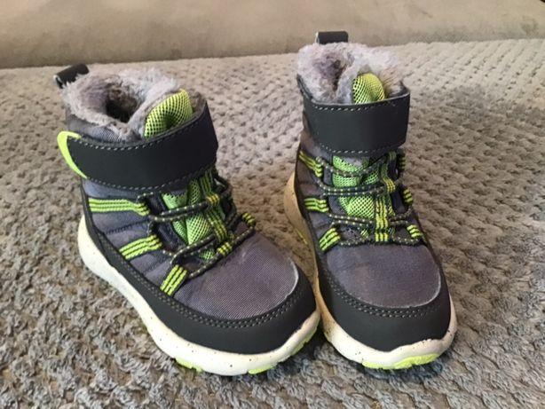 Buty zimowe chłopiec Smyk Coolclub rozmiar 21