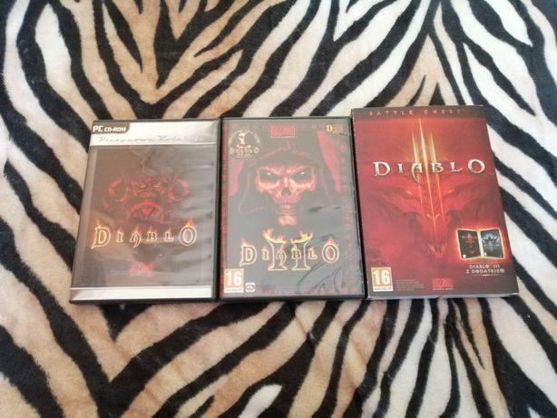 Zestaw gier Diablo PC