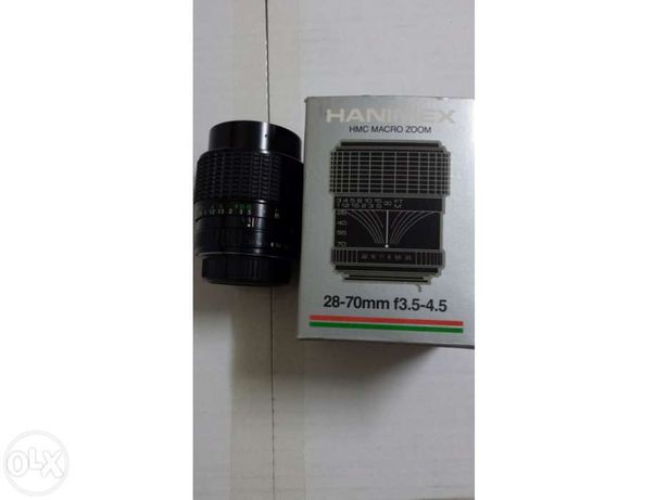 Objectiva Hanimex 28/70mm  para Pentax