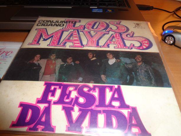 Disco Single Los Mayas Festa da Vida Conjunto Cigano Oferta Envio
