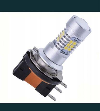 Żarówka H15 LED komplet dwie żarówki