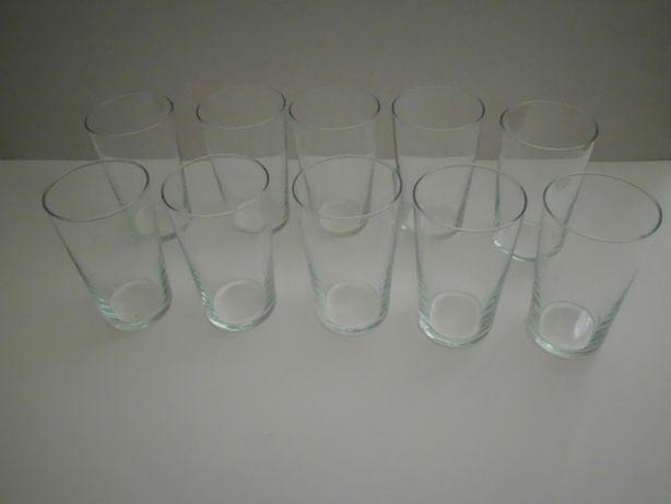 szklanki komplet 10szt retro vintage prl kolekcja klasyka