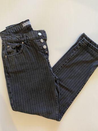 Calças mom jeans da pull&bear