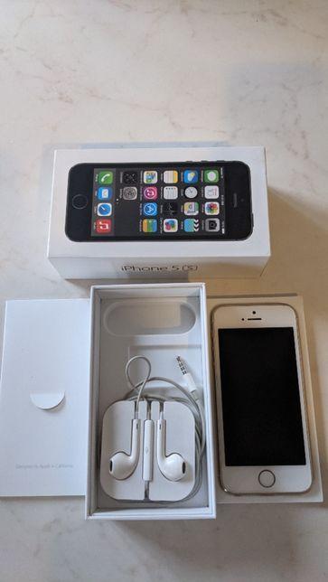 iPhone 5S 16GB Silver stan bdb
