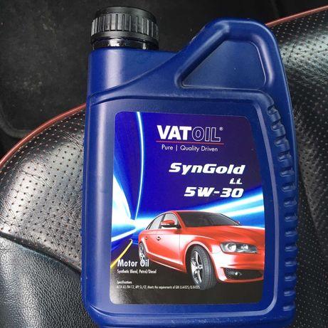 Моторное масло Vatoil SynGold LL 5W-30 1л универсальное синтетика