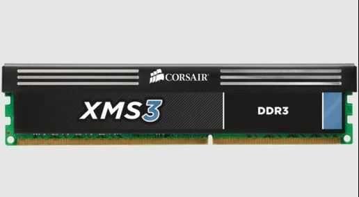 DDR3 4Gb Corsair XMS3 CMX8GX3M2A1600C9 1600 MHz 9-9-9-24