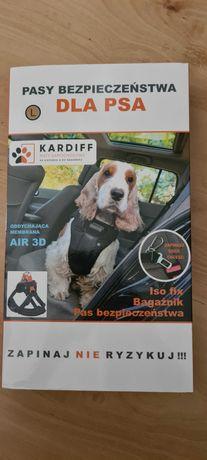 Pas bezpieczeństwa dla psa szelki Kardiff L