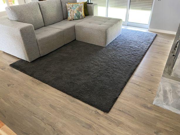 Carpete Ikea cinzenta
