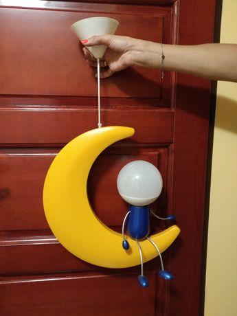 Lampa wisząca  księżyc Philips Lunardo