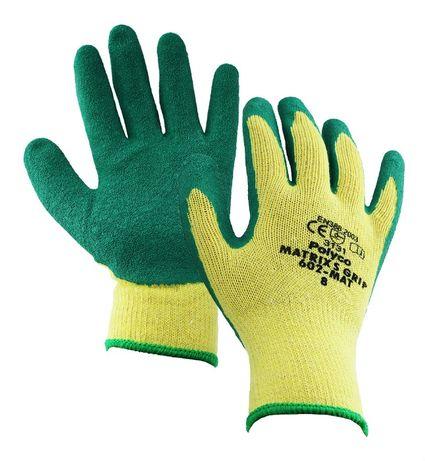 Латексные Перчатки Polyco Matrix S С Зеленым Покрытием Polycotton