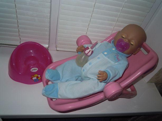 Переноска трансформер для кукол Baby Born пупсов люлька кресло