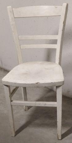 krzesło drewniane FAMEG radomsko gięte patyczak ikea białe