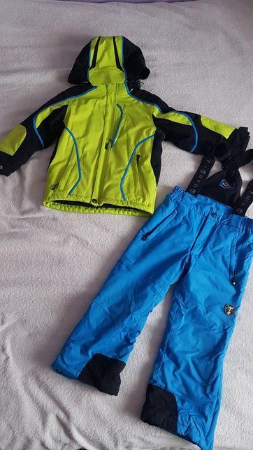 Strój narciarski zestaw kurtka + spodnie rozm. 116 BTG Italian Design