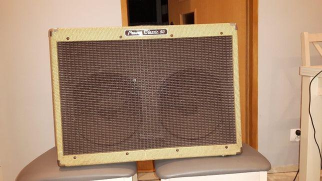 Peavey Classic 50 2x12 made in USA + hard case