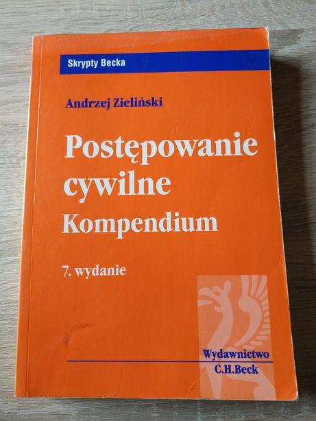 Postępowanie cywilne kompendium, skrypty Becka, Andrzej Zieliński