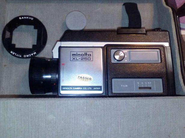 Camera filmar vintage Minolta Xl 250 Nova