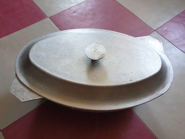Утятница алюминиевая 6л, пароварка, сито для томата
