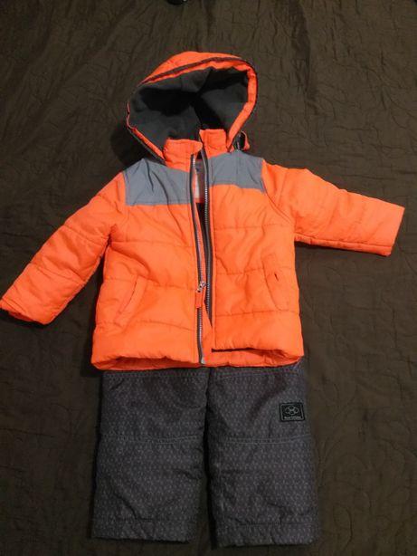 Комплект куртка - комбинезон фирмы Carter's, зимний комбинезон