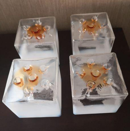 Globos em vidro opalino para candeeiro