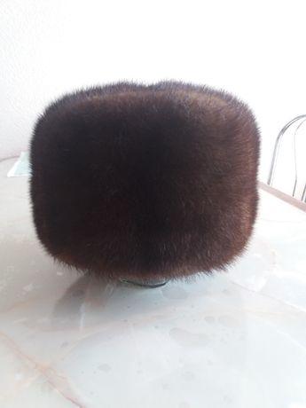 Норковая шапка (имитация)
