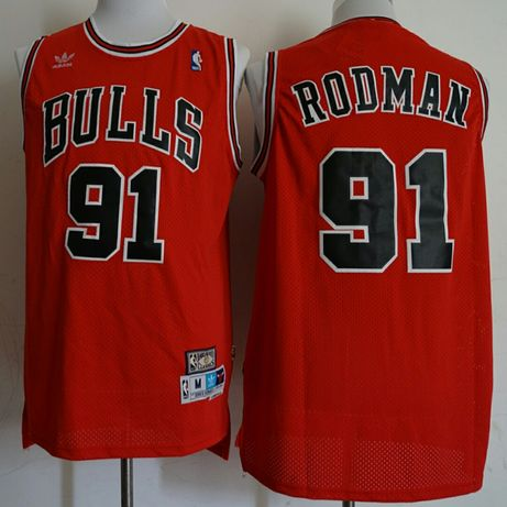 Camisola NBA Bulls Rodman 91