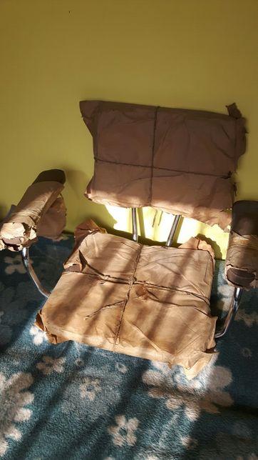 Nie używane ! Siedzisko krzesła obrotowego z PRL