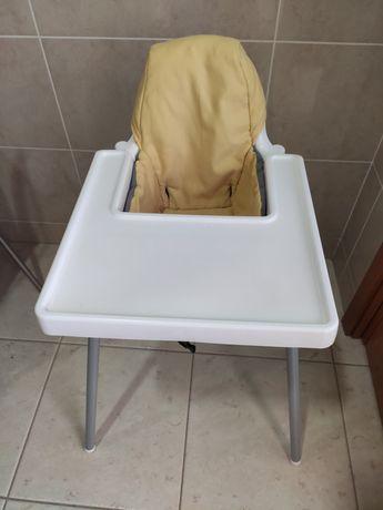 cadeira refeição bebê