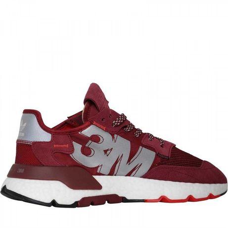 Красные Кроссовки для мужчин   Adidas Nite Jogger